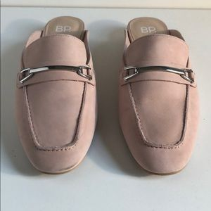 BP Dusty Pink leather slides